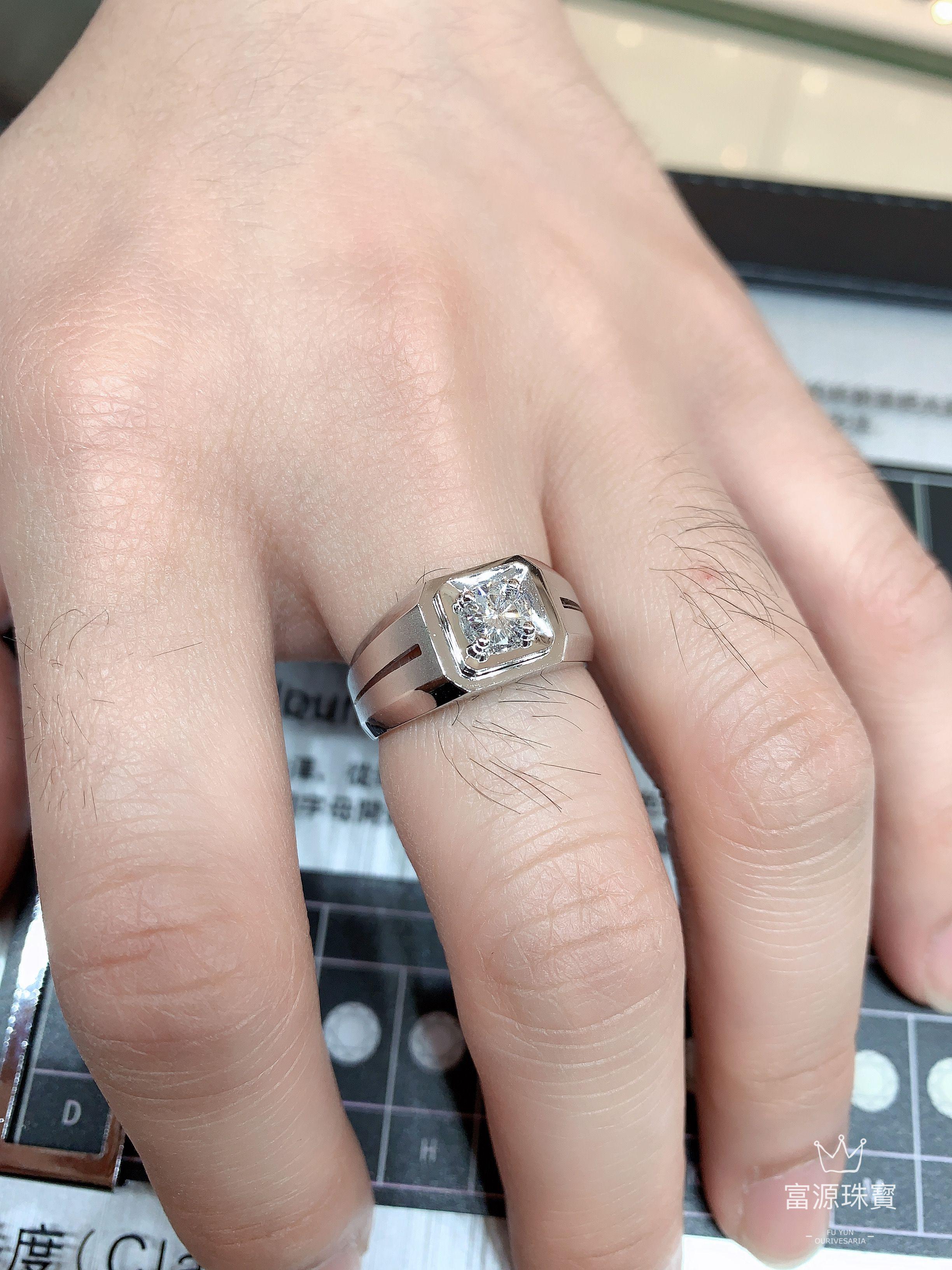 男裝鑽石戒指